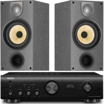 DENON PMA-520-BK+BW-686-BK