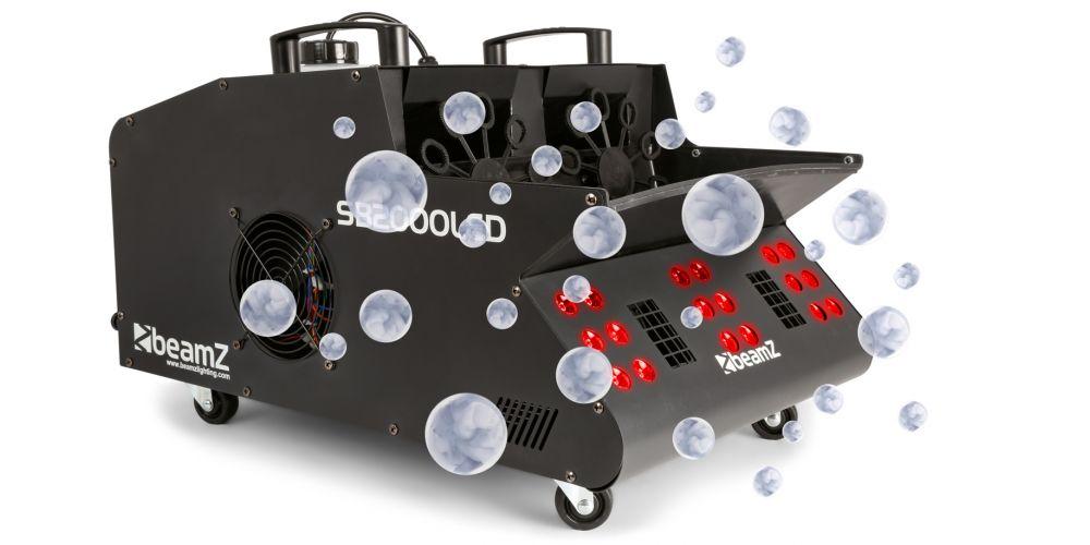 Maquina Humo y Burbujas Led Beamz SB2000LED