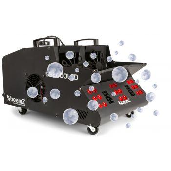 Beamz SB2000 LED Maquina de Humo y Burbujas Led RGB 160527