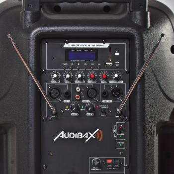 Audibax DENVER 15 Altavoz Trolley PA Portátil 15