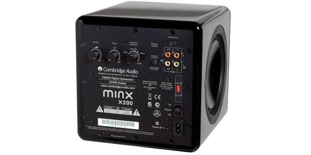 cambridge minx x201 black