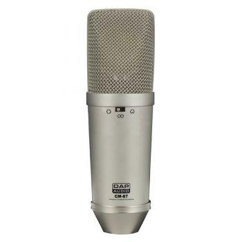 DAP Audio CM-87 Micrófono de Condensador de Estudio