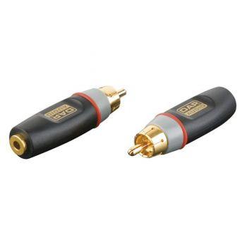 DAP Audio XGA04 Adaptador RCA Macho / MiniJack Hembra