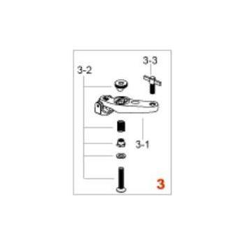 Tama HP9N3 Para-Clamp II Pro mordaza para fijar los pedales Iron Cobra