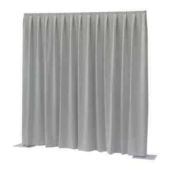 Showtec P D curtain Dimout Cortina Gris Claro 89454