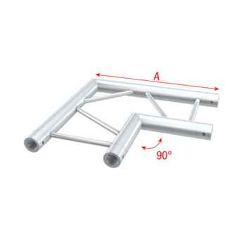 Showtec Corner 90 horizontal Tramo Angulado para Truss PS30003H