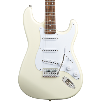 Fender Squier Bullet Stratocaster Artic White con Tremolo