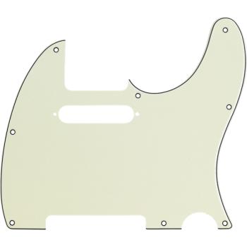 Fender Golpeador Telecaster 8 Agujeros de montaje Mint Green