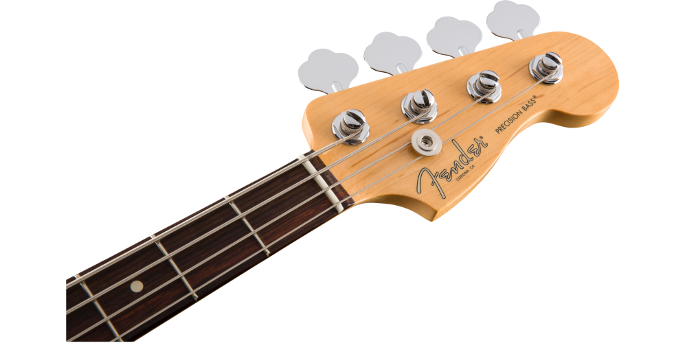 fender american pro precision bass rosewood fingerboard olympic white pala
