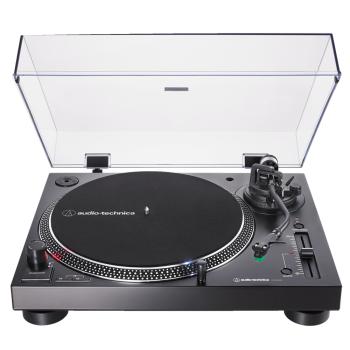 Audio Technica AT-LP120XUSB Negro Giradiscos de Tracción Directa con USB. Cápsula AT-VM95E Incluida