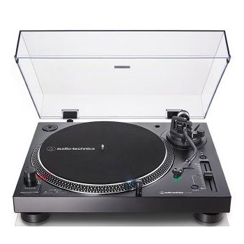 Audio Technica AT-LP120XUSB BK Giradiscos de Tracción Directa