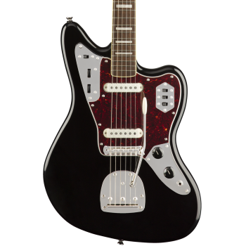 Fender Squier Classic Vibe 70s Jaguar LRL Black Guitarra Eléctrica