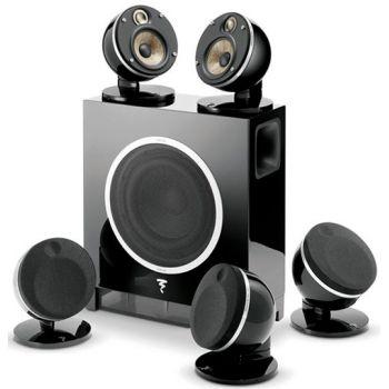 FOCAL DOME 5.1 Flax Black altavoces Sub Air Altavoces home cinema