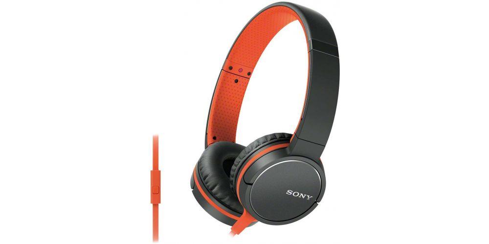 auricular hifi sony mdr zx660ap naranja