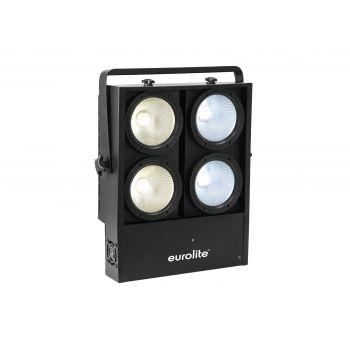 Eurolite Audience Blinder 4x100W LED COB CW/WW Cegadora