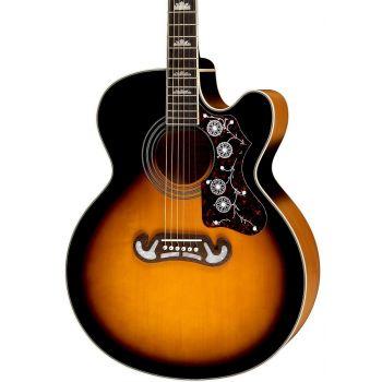 Epiphone EJ-200SCE Vintage Sunburst Guitarra Electroacústica