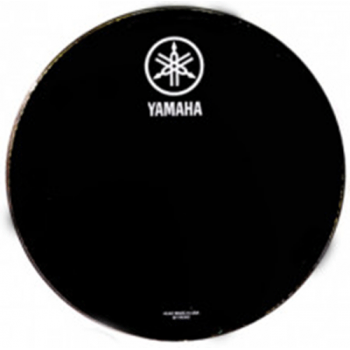 Yamaha Parche Resonante Negro Logo Nuevo 18