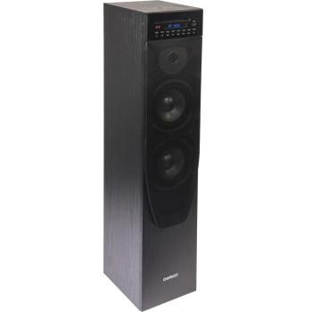 Madison MAD-CENTER 200CD-BK Altavoz Amplificado con Bluetooth, Usb, Cd y Radio 200W