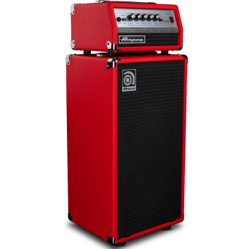 AMPEG Micro-VR Red 200W Head Cabezal + Pantalla de bajo Edición Limitada
