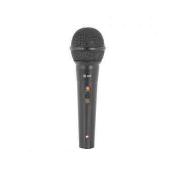 QTX DM11B Micrófono Dinámico de Mano con Cable 173853