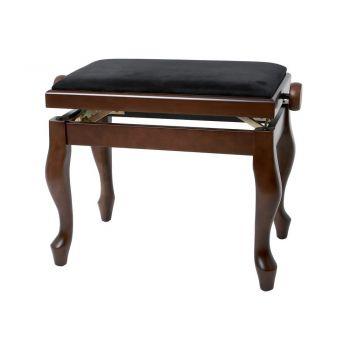 GEWA 130370 Banqueta de Piano Deluxe Classic Nogal mate