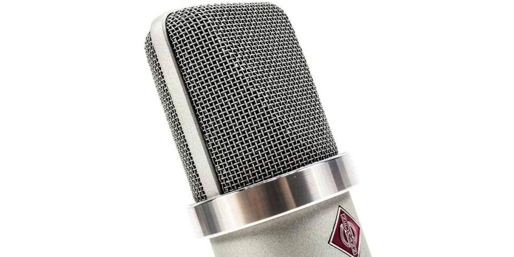 neumann tlm102 studio set niquel microfono gran diafragma