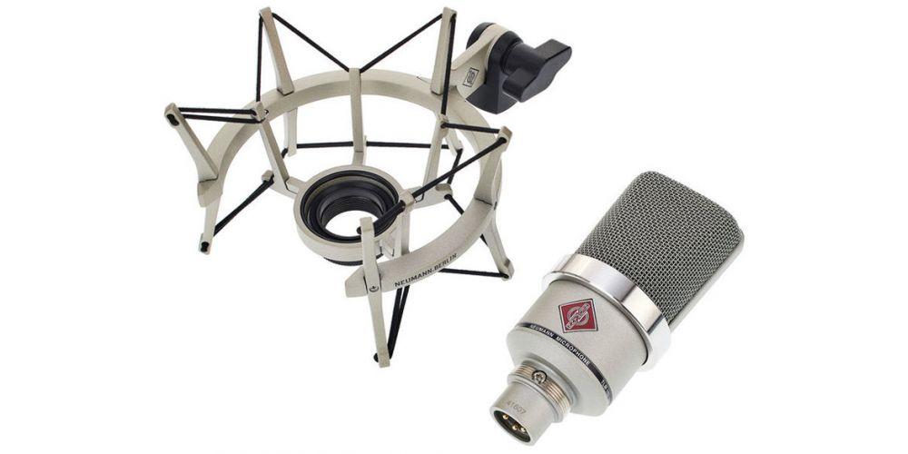 tlm102 studio set niquel microfono gran diafragma