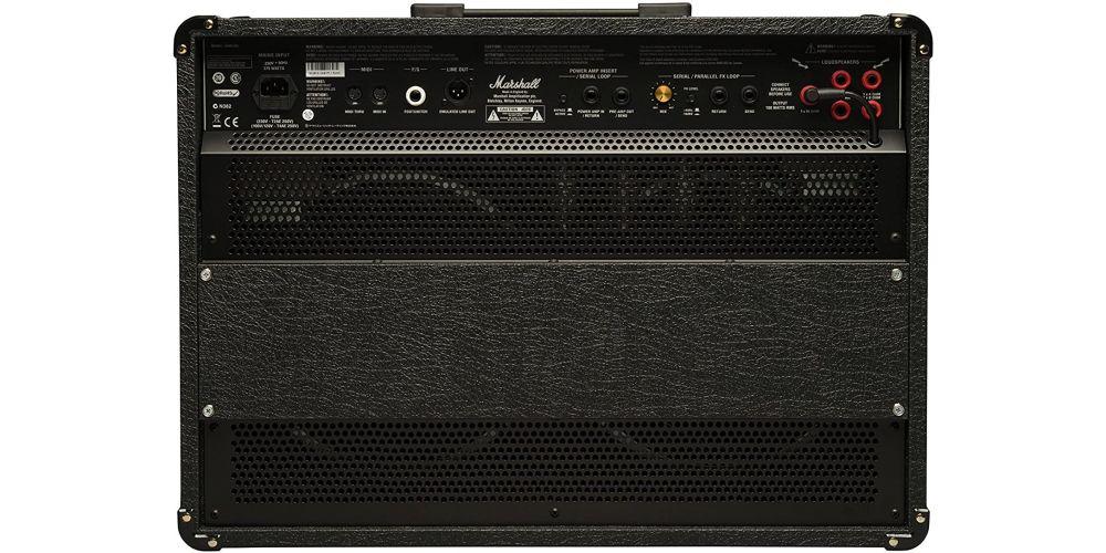 marshall jvm210c combo  amplificador rear