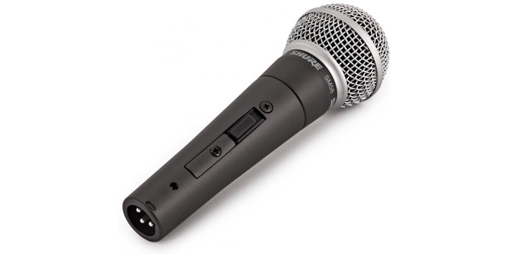 SHURE SM58 SE Microfono Profesional Con Interruptor SM 58S