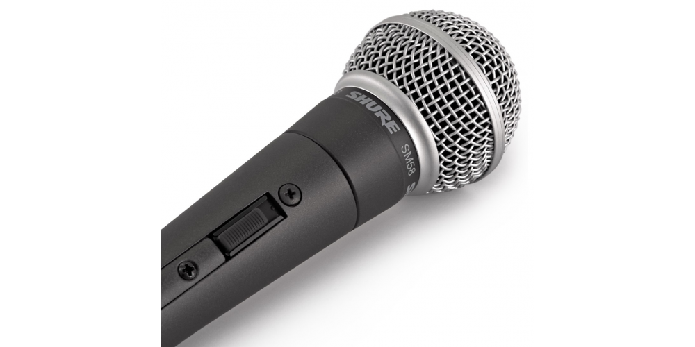 SHURE SM58 SE Microfono Profesional Con Interruptor