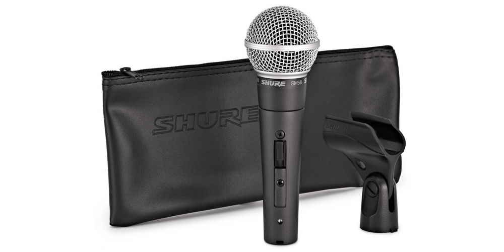SHURE SM58 SE Microfono Profesional Interruptor SM 58SE