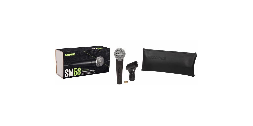 SHURE SM58 seMicrofono Mano