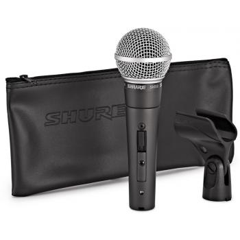 SHURE SM58 SE Micrófono Profesional Con Interruptor SM-58SE