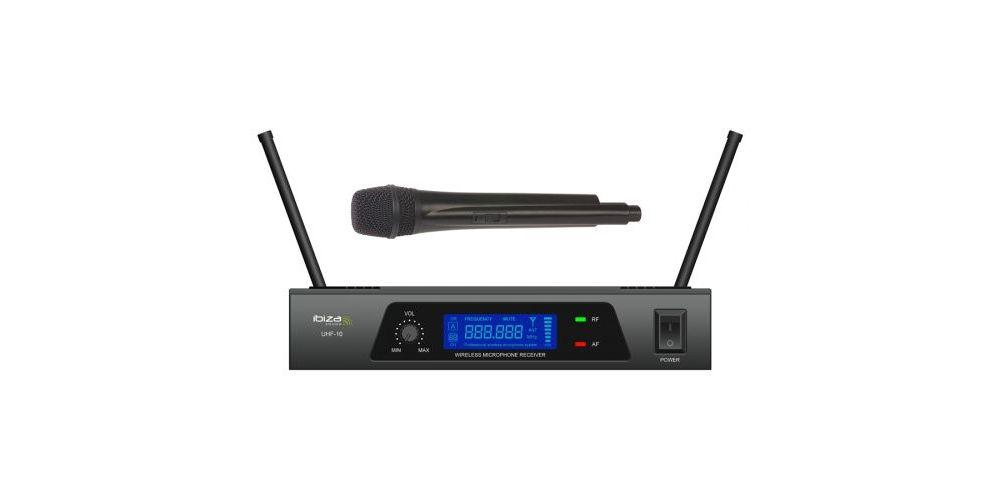 IBIZA SOUND UHF10 MICROFONO