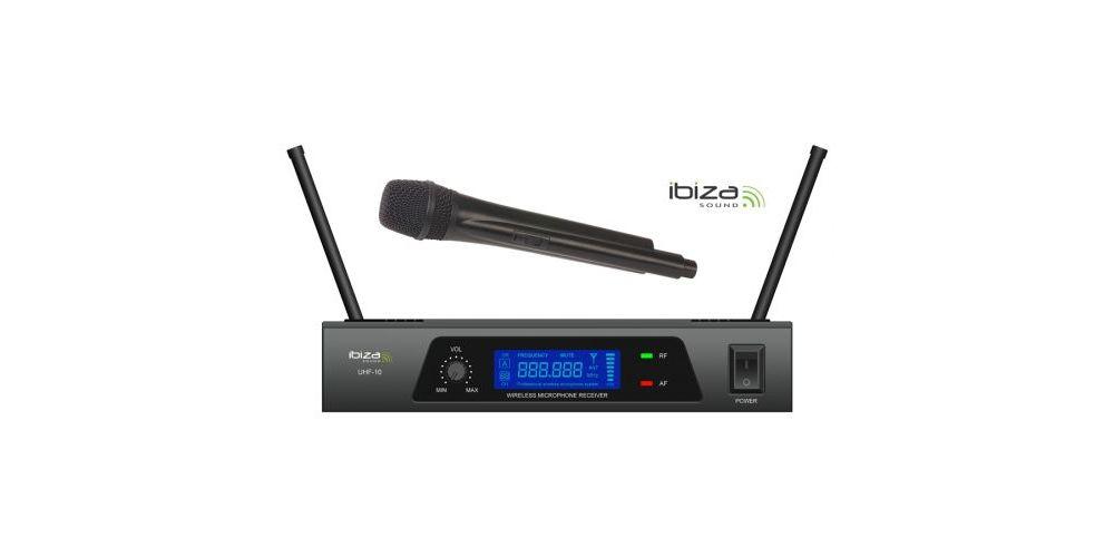 IBIZA SOUND UHF10A MICROFONO INALAMBRICO