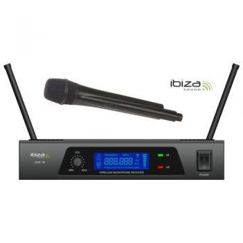 IBIZA SOUND UHF10B, Microfono Inalambrico UHF Frec. B