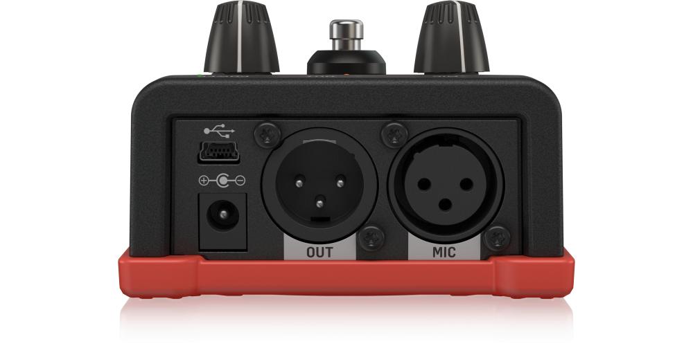 tc helicon voicetone r1 pedal reverb