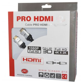 ACOUSTIC CONTROL Cable HDMI 15 Metros Profesional RF:570