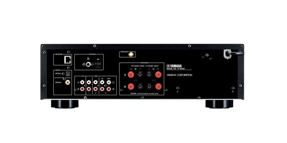 yamaha rn402d receptor red wifi bluetooth black musicast