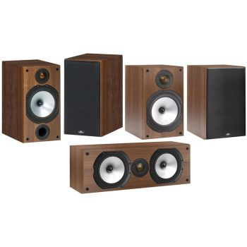 MONITOR AUDIO PACK2 Walnut MR2 + MR1 + MRCENTER