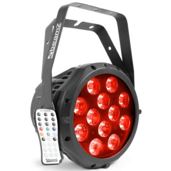 Beamz BWA412 Foco PAR Aluminio IP65 LED 150763