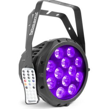 Beamz BWA412 Foco PAR Aluminio IP65 LED 150763
