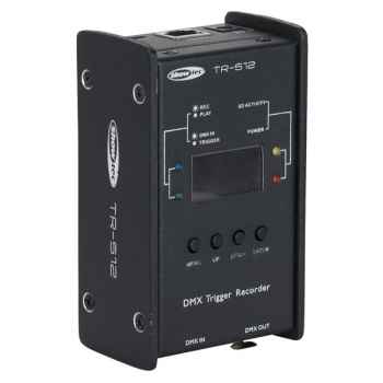 Showtec TR-512 Activador/grabador DMX 50825