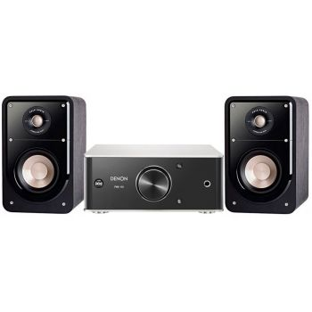DENON SISTEMA 6015 SCD, PMA-60 + POLK AUDIO S15 BK,  Conjunto Audio