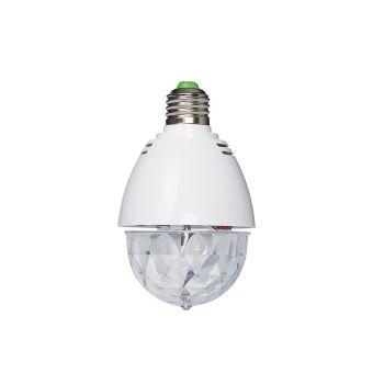 Fonestar LED-MINIBALL27 Bombilla y mini semiesfera LED