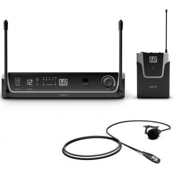 LD Systems U306 BPL Sistema Inalámbrico con Petaca y Micrófono Lavalier