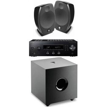 PIONEER SX-N30AE Black+Focal Sib Evo+Cub Evo Conjunto Audio