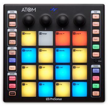 Presonus Atom Controlador Midi USB con 16 Pads