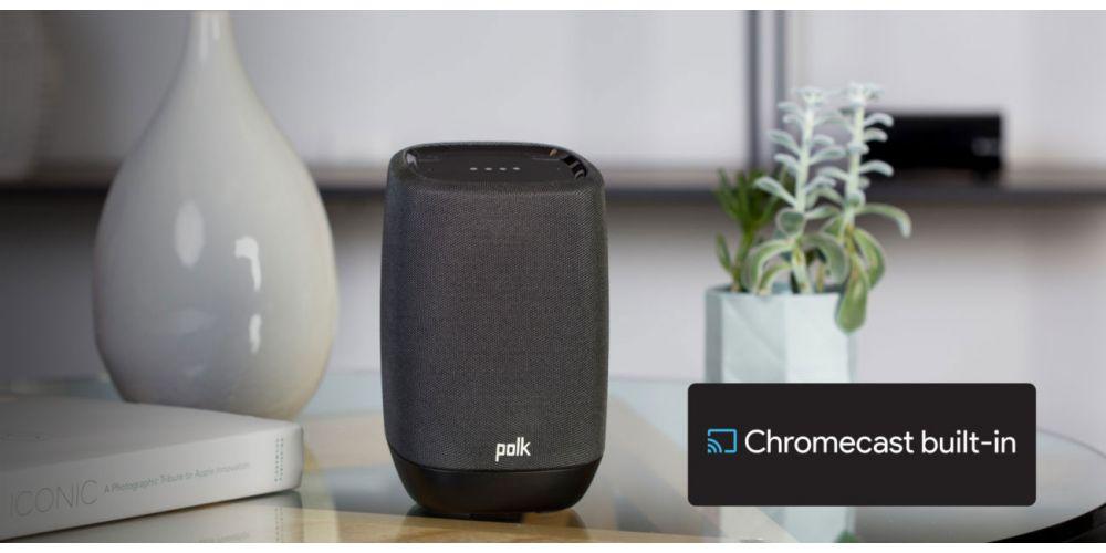 Polk audio ASSIS Black altavoz wifi bluetooth