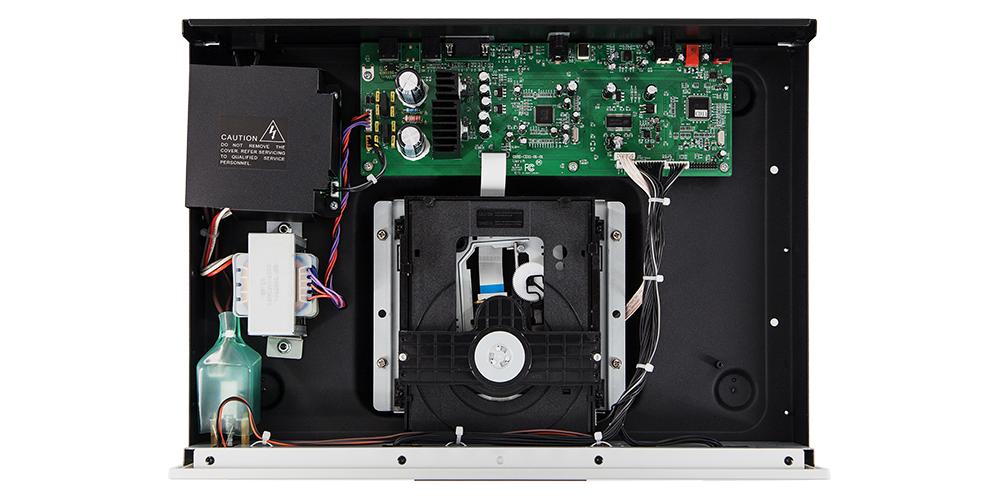rotel CD11 silver compact disc fabricacion componentes